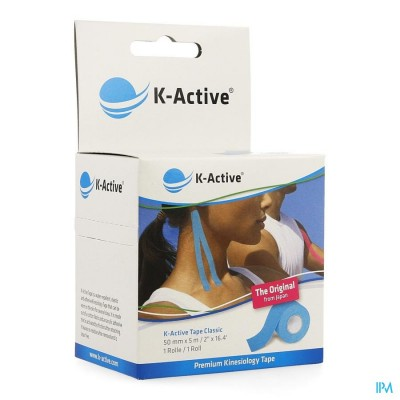 NAQI K ACTIVE TAPE BLUE 5,0CMX5M