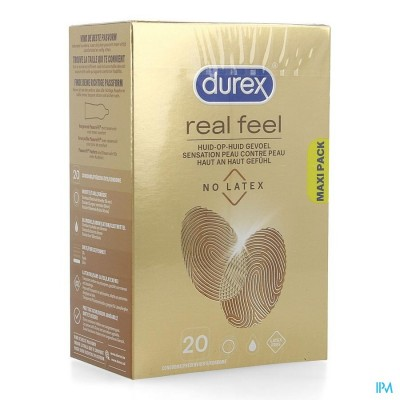 DUREX REAL FEEL CONDOMS 20