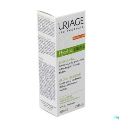 URIAGE HYSEAC 3-REGUL GLOBALE VERZORGING CR 40ML