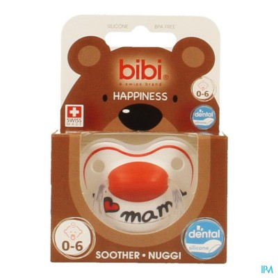 Bibi Fopspeen Hp Dental I Love Mama 0-6m