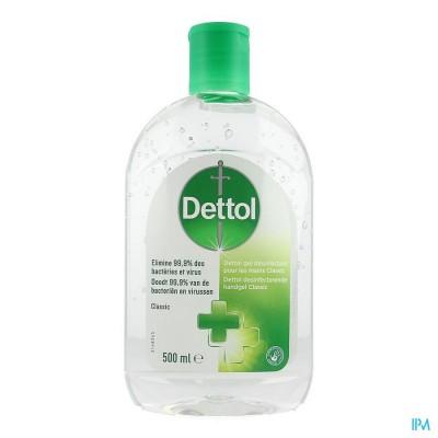 Dettol Desinfecterende Handgel Classic 500ml