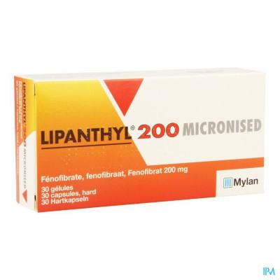 Lipanthyl 200 Micron Caps 30x200mg