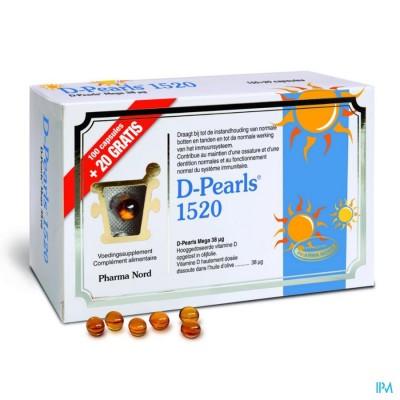 D-pearls 1520 Caps 100+20 Promo