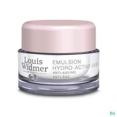 Widmer Emulsie Hydro-active Uv30 N/parf Pot 50ml