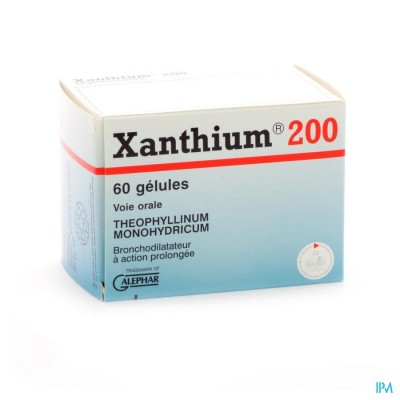 XANTHIUM 200 CAPS 60 X 200 MG