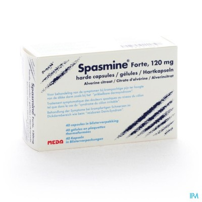 SPASMINE FORTE CAPS 40 X 120 MG