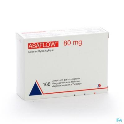 Asaflow 80mg Maagsapres Comp Bli 168x 80mg