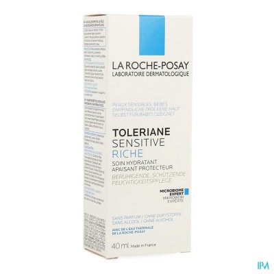 Lrp Toleriane Sensitive Riche 40ml