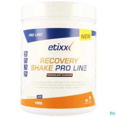 Etixx Recovery Pro Shake Chocolate 1000g