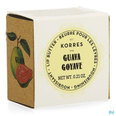 Korres Km Lipbutter Pot Guava 6g