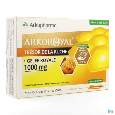 Arkoroyal Koninginnebrij 1000mg Amp 20x10ml