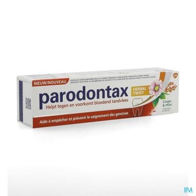 Parodontax Dentifrice Herbal Ginger Tube 75ml