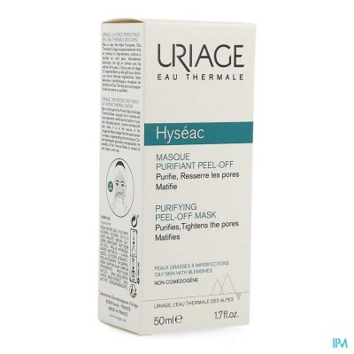 URIAGE HYSEAC ZUIVERENDE PEEL-OFF MASKER 50ML