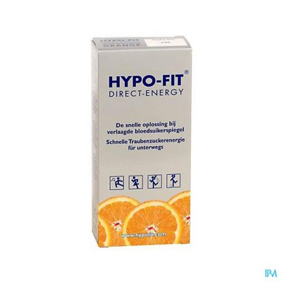 Hypo-fit Direct Energy Orange Zakje 12x18g