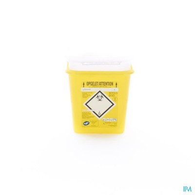 SHARPSAFE NAALDCONTAINER 4L 4100