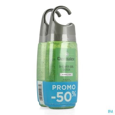 Dermalex Shower Gel Detox 250ml 2de -50%
