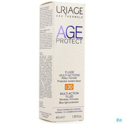 URIAGE AGE PROTECT MULTI ACTIEVE FLUID IP30 40ML