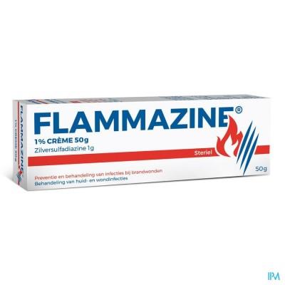 FLAMMAZINE CREME 1 X 50 G 1%