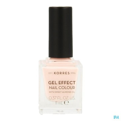 Korres Km Gel Effect Nail 05 Candy Pink 11ml