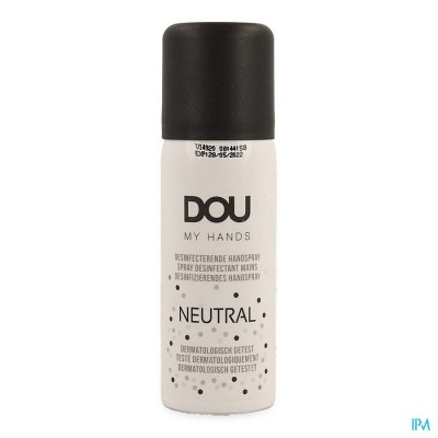 DOU MY HANDS HANDSPRAY DESINFECTEREND NEUTRAL 45ML