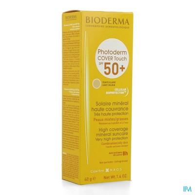 Bioderma Photoderm Cover Touch Licht Ip50+ Tb 40g