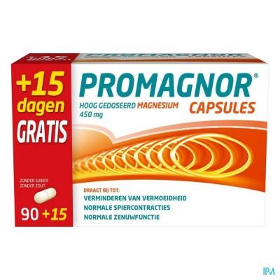 PROMAGNOR 450MG CAPS 90 + 15 GRATIS