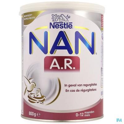 NAN AR 0-12M PDR 800G