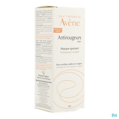 Avene Antirougeurs Calm Masker Verzachtend 50ml