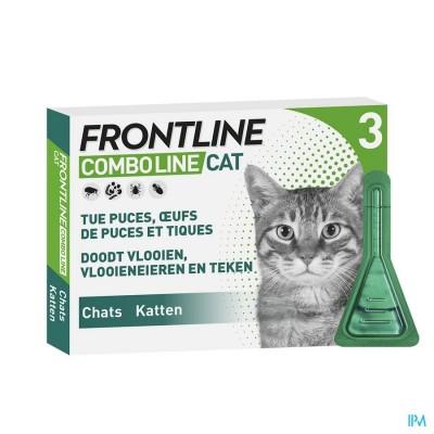 Frontline Combo Line Cat 3x0,5ml