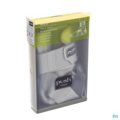 Push Med Enkelbrace Rechts 32-35cm T3