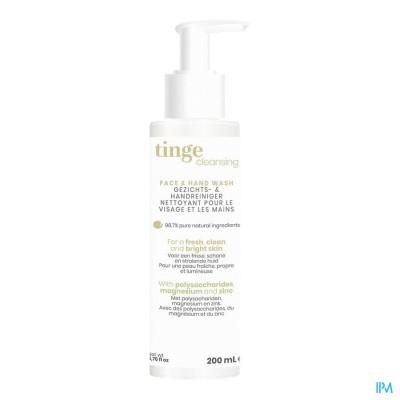 TINGE REINIGER GEZICHT/HAND 200ML