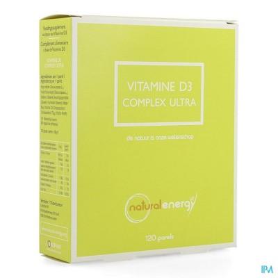 Vitamine D Complex Ultra Parels 120