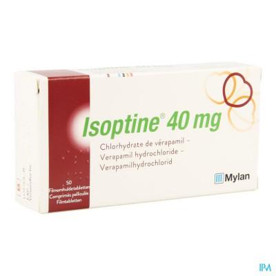Isoptine Filmomh Tabl 50 X 40mg