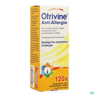 Otrivine Anti Allergie Spray 120 Doses