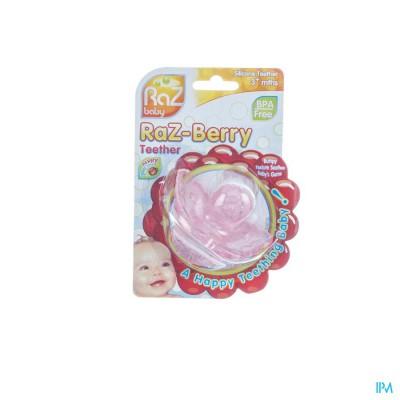 Raz Baby Bijtring Razberry Pink