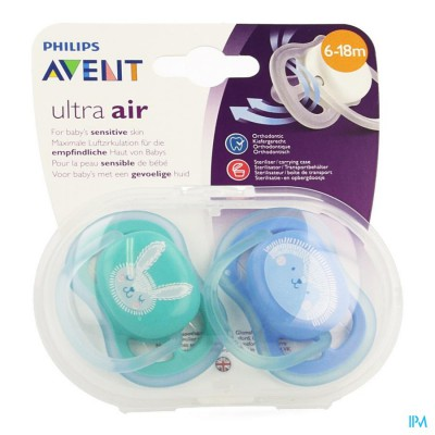 Philips Avent Fopspeen +6m Air Mix Scf344/23