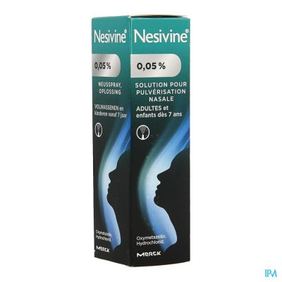 NESIVINE 0,050% SPRAY 10ML