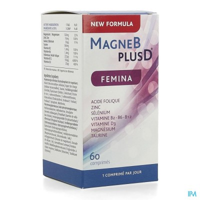 Magne B Plus D Femina Tabl 60 Nf