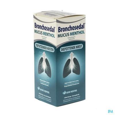 BRONCHOSEDAL MUCUS MENTHOL 150 ML 20 MG/ML