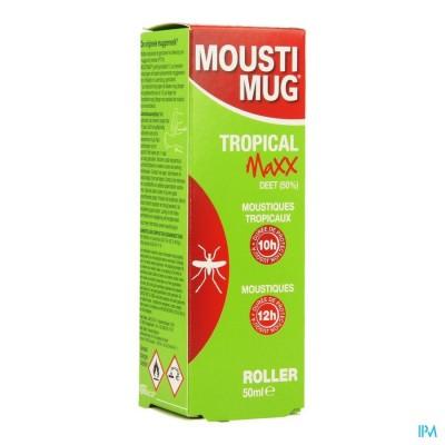 MOUSTIMUG TROPICAL MAXX 50% DEET ROL.50ML