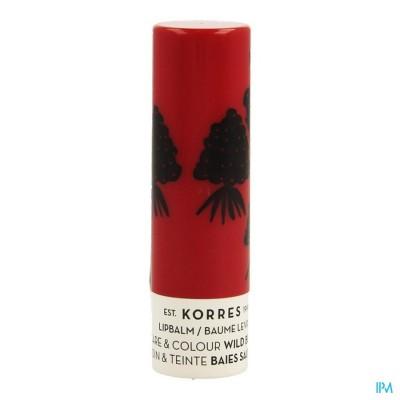 Korres Km Lipbalm Wild Berries 5ml