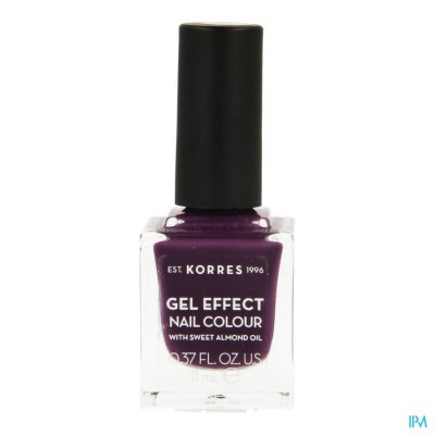Korres Km Gel Effect Nail 74 Berry Addict 11ml