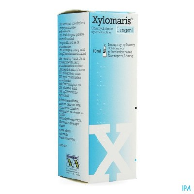 Xylomaris 1mg/ml Neusspray Opl 1 X 10ml