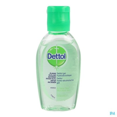 DETTOL HYDROALCOHOLISCHE GEL ALOE VERA 50ML
