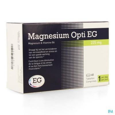 MAGNESIUM OPTI EG 225MG COMP 60