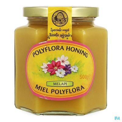 Melapi Honing Polyflora Zacht 500g 5531 Revogan