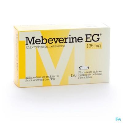 MEBEVERINE EG 135 MG FILMOMH TABL 120 X 135 MG