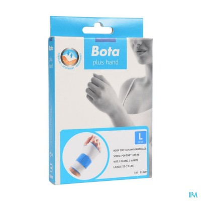 Bota Handpolsband 200 White l