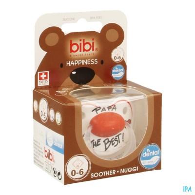 Bibi Fopspeen Hp Dental Papa Is The Best 0-6m