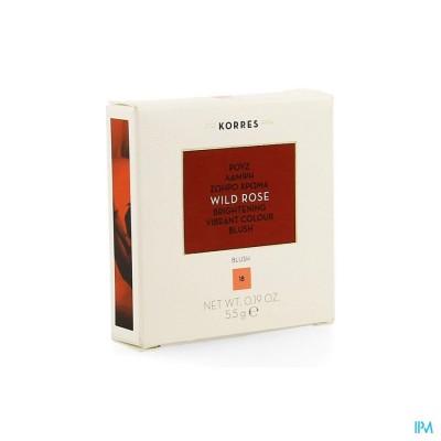 Korres Km Wild Rose Blush 18 Peach 5,5g